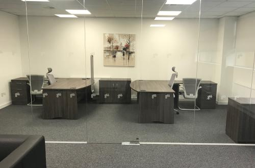 Strategically located refurbished office space close to Junction 5 M20
