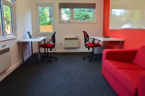 Focused office zone